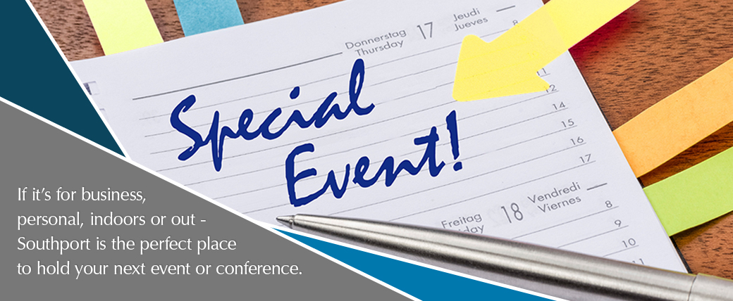 Events and Conferences at Southport