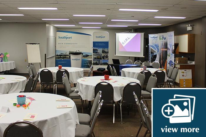 Flightline Building Conference Rooms